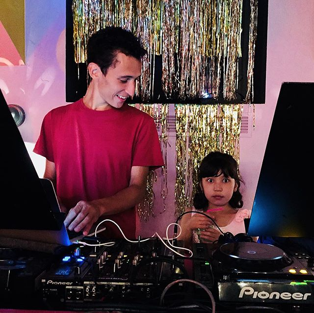 Yasha organized a discotheque on the last day of the Children of Saint Petersburg summer camp, 2018