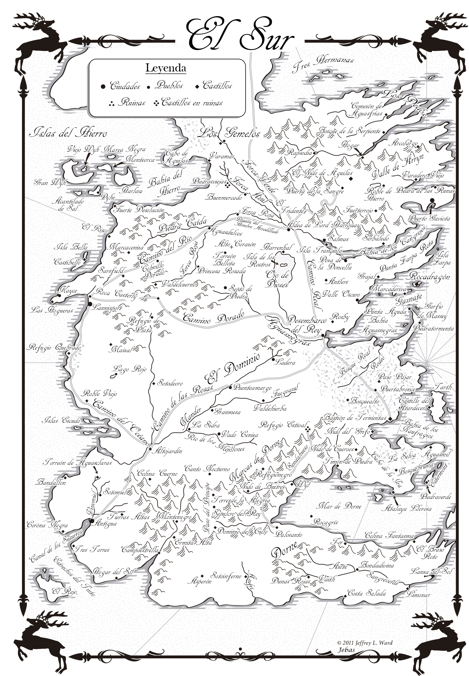 Image Result For Game Of Throans Map