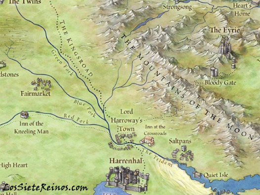 Harrenhal - The Lands of Ice and Fire