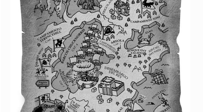 Mapa de Juego de Tronados