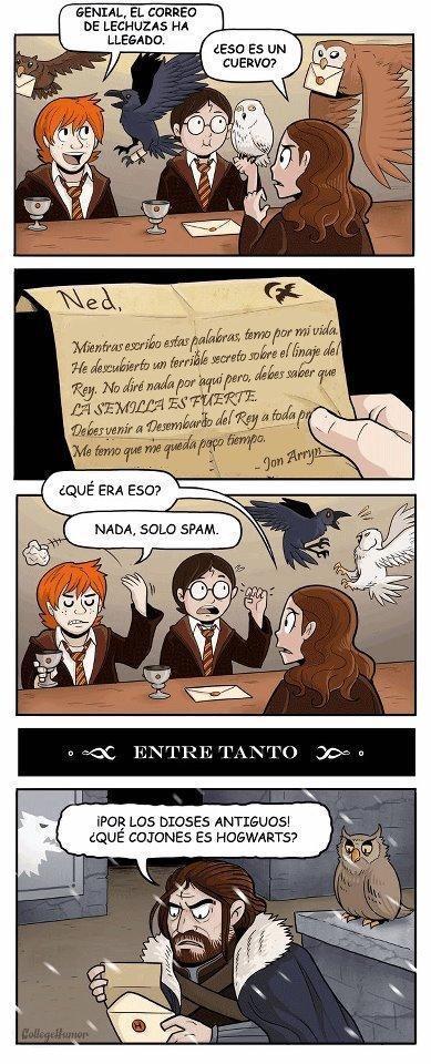 Correo de Hogwarts