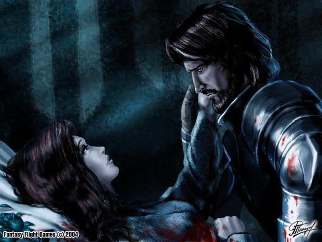 La muerte de Lyanna, por Amoka