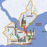 Mapa de la cadena de Constantinopla
