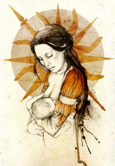 Elia Martell by *elia-illustration on deviantART