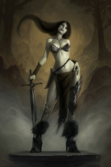 Warrior Final by *Coliandre on deviantART (No es Wenda)
