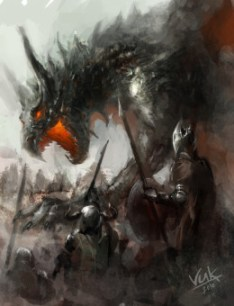 battle with dragon by ~chevsy on deviantART