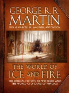 Portada de The World of Ice and Fire