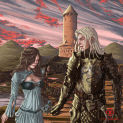 Lyanna Stark and Rhaegar Targaryen by mrgotland on deviantART
