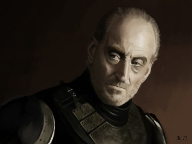 Portrait of Tywin Lannister from Game of Thrones by s3lwyn on deviantART