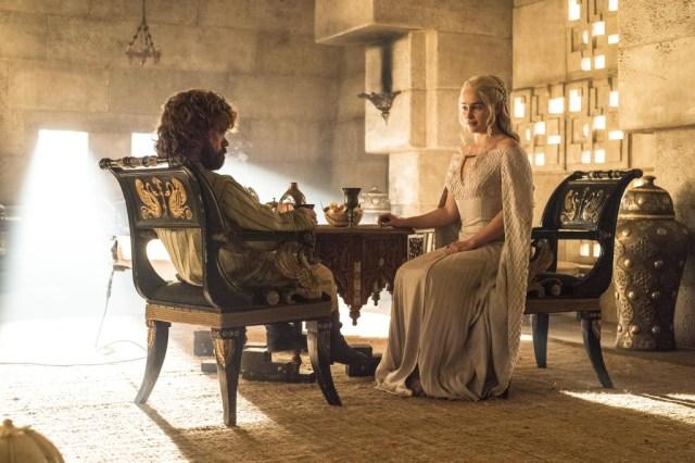 Daenerys Tyrion HBO
