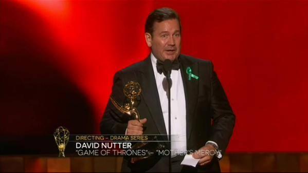 David Nutter con el suyo