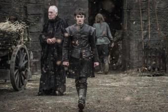 Bran y el Cuervo de Tres Ojos de nuevo en Invernalia