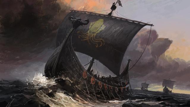 barcos greyjoy cancion hielo fuego