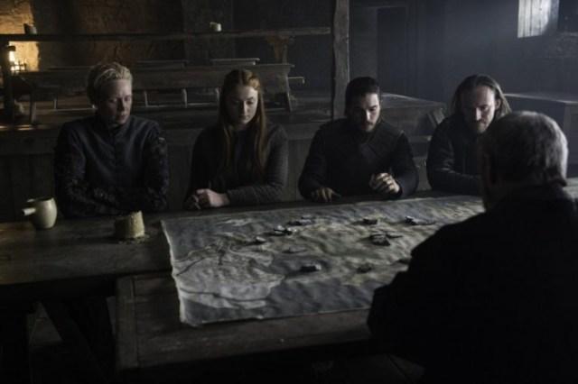 La corte de Sansa I de Invernalia
