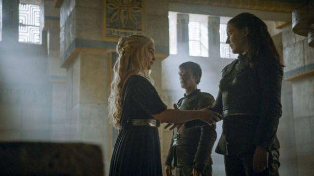 daenerys y yara greyjoy