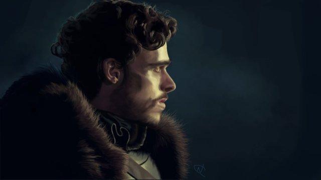 Robb Stark by OctopusTimelord on DeviantArt