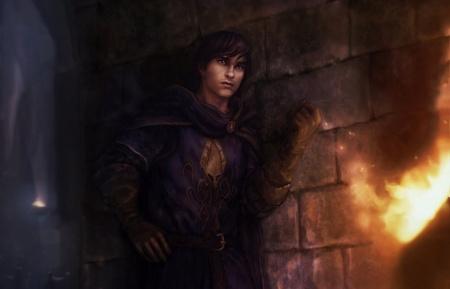 Theon Greyjoy in Winterfell – by Diener