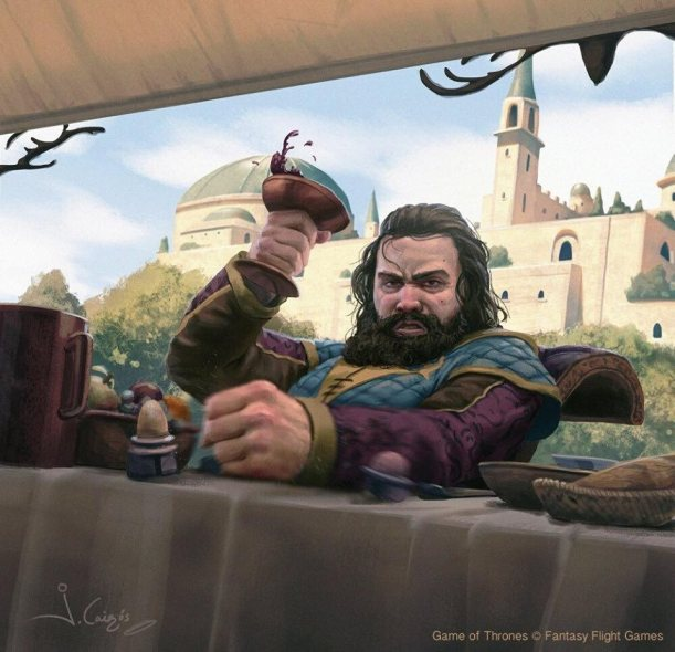 Robert Baratheon, por Joshua Cairós