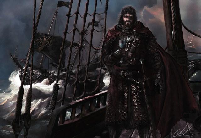 Euron Greyjoy, por Mike Hallstein
