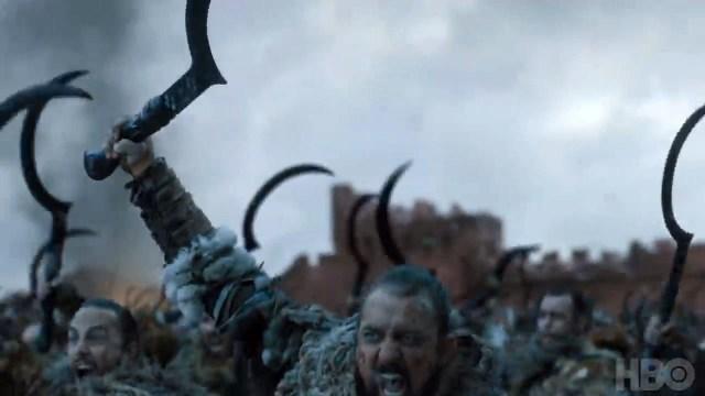 8x06-8 los dothraki celebran la victoria