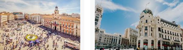 Lost found Madrid city