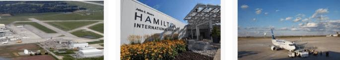 Lost found airport Hamilton