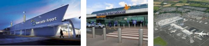 Lost found airport Newcastel