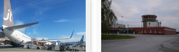 Lost found Airport Orebro