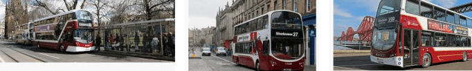 Lost found bus Edinburgh