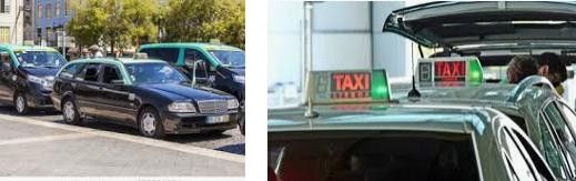 Lost found taxi Nova de Gaia
