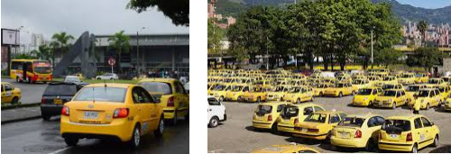 Lost and found taxi Pereira