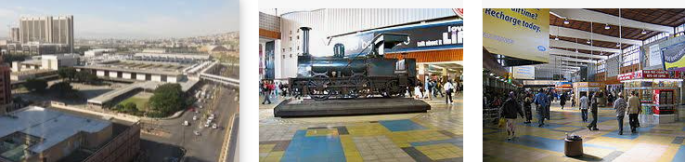 Lost found train station Cape Town
