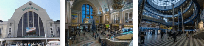 Lost and found train station Kiev Moscow