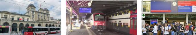 Lost found train station Winterthur