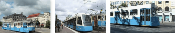 Lost found tram Goteborg