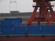 Container laden auf chinesisch!