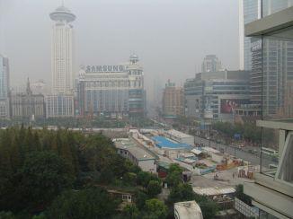 Blick über den Renmin Square