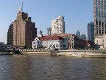 Brooklyn Mansions & das russische Konsulat, dahinter das Astor House Hotel