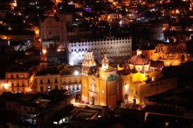 Basílica de Nuestra Señora de Guanajuato und Universidad de Guanajuato
