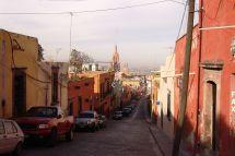 Auf dem Weg zum Mirador