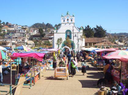 Der Markt in San Juan Chamula
