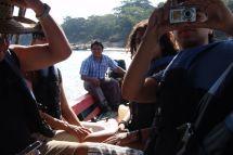 Lancha-Fahrt auf dem Río Usumacinta nach Yaxchilán