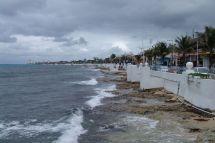 Uferpromenade von San Miguel de Cozumel