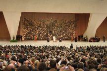 Audienz bei Papst Benedikt XVI.