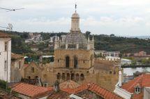 Blick auf die Sé Velha, die alte Kathedrale