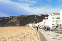 Uferpromenade von Nazaré