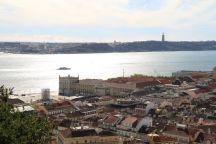 Blick vom Castelo de São Jorge
