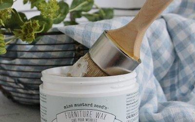 Three Ways to Seal Milk Paint