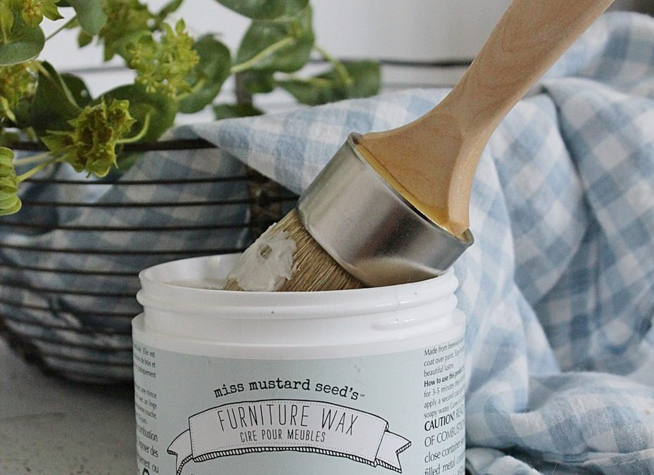 Three Ways to Seal Milk Paint