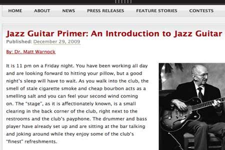 An Introduction To Jazz Guitar
